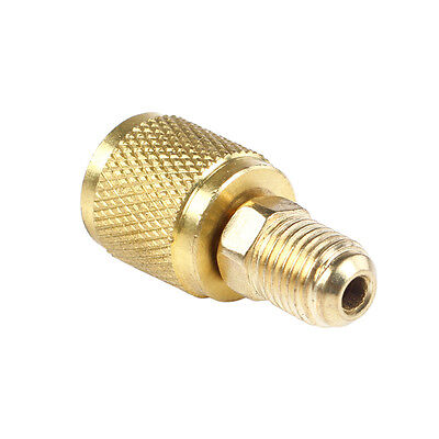 "5/16"" SAE Female to 1/4"" Male for R410a R22 Gauge Hose Vacuum Pump Adaptor"