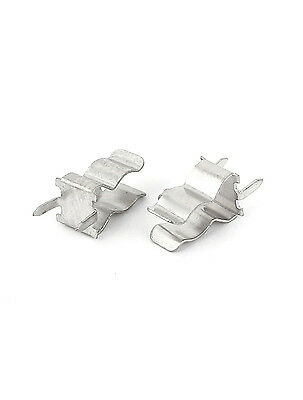 10Pcs Fuse Holder Clips 5X20mm Mounting PCB Brass Tin Plate Littlefuse SCHURTER