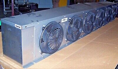 Russell 32,800 Btu Air Defrost Low Profile Unit Cooler Aa68-318B-Ae  6 Fan Unit