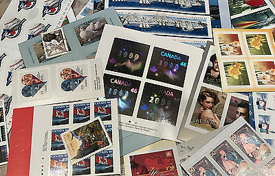 DISCOUNTED Canada Postage Lot $1000 Face Value - All .46-51 ¢ Sticker -Free Ship