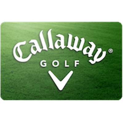 CALLAWAY GOLF GIFT Card $100 Value, Only $80.00! Free Shipping ...