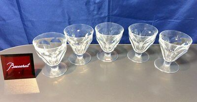 Baccarat Crystal Tayllerand / Talleyrand set 5 wine glasses NEW IN BOX