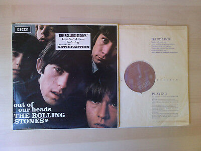 (100) Rolling Stones - Out Of Our Heads - mono VG+