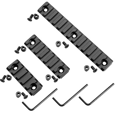 New Rail Section Picatinny / Weaver For NSR Keymod Handguard 5 7 13 Slots USPS