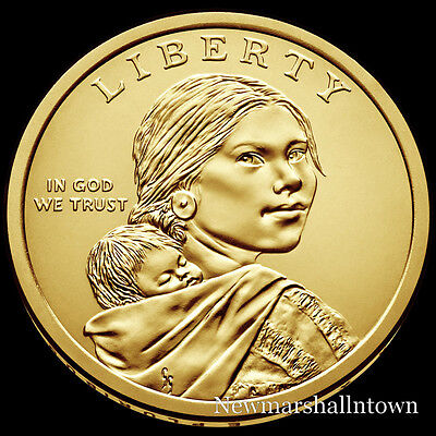 2018 D Native American Sacagawea Position A Business Strike from US Mint Roll