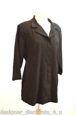 Motherhood Maternity black lightweight blazer professional career wear size M