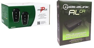 Prestige APS57E Car Remote Start System with 2 Remotes Keyless & ALCA BYPASS