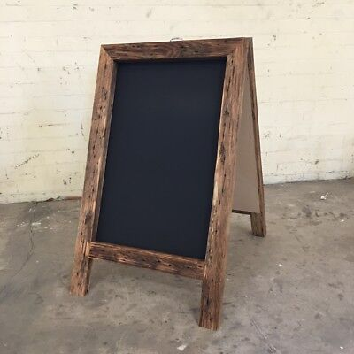 Chunky 1000 x 580mm A Frame Sandwich Board, Pavement Shop Sign, Rustic Wedding