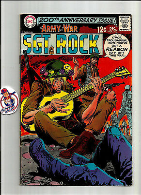 Our Army at War #200 DC Comic Book 1968 Sgt. Rock Classic War Kubert (VG/FN 5.0)