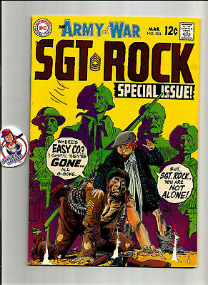 Our Army at War #204 DC Comic Book 1969 Sgt. Rock Classic War Kubert (VG/FN 5.0)