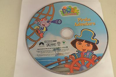 Dora the Explorer - Pirate Adventure (DVD, 2004)Disc only Free Shipping 33-112