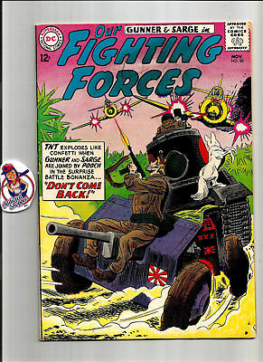 Our Fighting Forces Gunner Sarge #80 DC Comic Book 1963 Classic War (VG/FN 5.0)