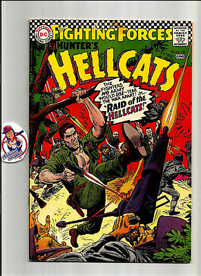 Our Fighting Forces HellCats #107 DC Comic Book 1967 Classic War (FN/VF 7.0)