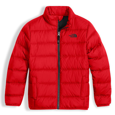 The North Face Boys' red Andes Down Jacket M L