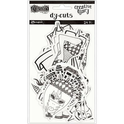 Creative Dy-Cuts 7 - Dylusions - 24 pieces
