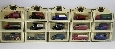 Chevron Days Gone By England Die Cast Replica Truck Models Lot of 15