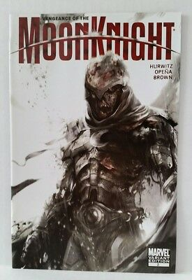 Vengeance Of The Moon Knight #2 Zombie Variant Cover Marvel Comics