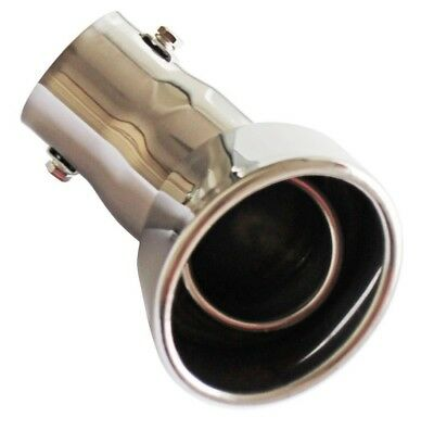 Ø32-50mm Diesel Stainless Steel Extension Exhaust Tip Tail Pipe for VW Passat B5
