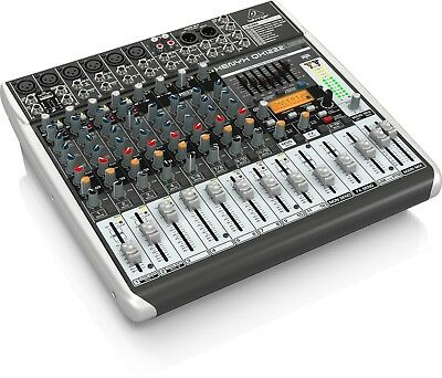 Behringer Qx1222Usb Mixer 16 Ingressi Con Usb - Effetti X Voce E Wireless