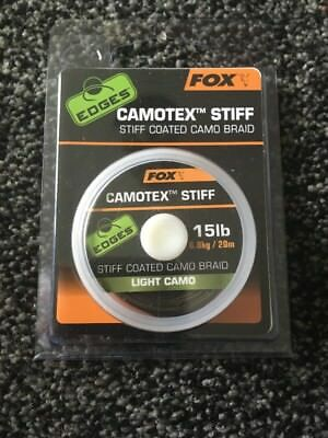 Fox Camotex Stiff Braid 15lb