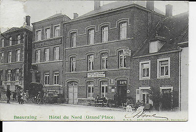 beauraing hotel du nord-grand place 1907