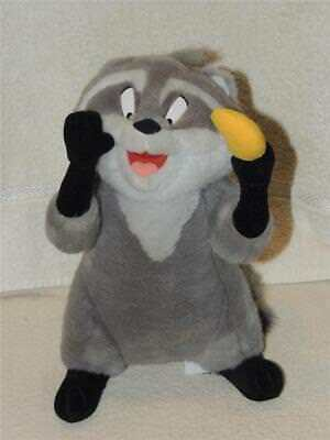 Meeko Racoon Plush Pocahontas Jointed Poseable Disneyland Disney World Parks 12""
