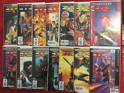 ULTIMATE X-MEN 1 ½ 81 - 84 34 35 36 37 38 39 Ann 1 2 Marvel LOT of 14 2004 VF/NM