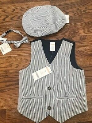 Dressed Up by Gymboree Family Brunch Easter Boys 2T-3T Seersucker Vest JCP12