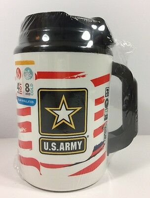 Big Gulp Mug 52oz US ARMY Insulated Thermos Whitley New Sealed 7 11 Seven Eleven