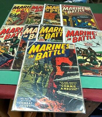 (9) Marines In Battle 1955 - 1958