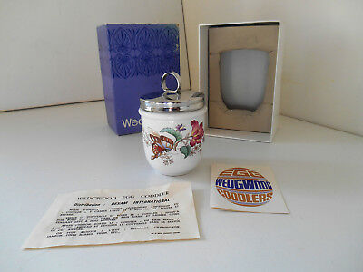 CHARNWOOD -  SINGLE WEDGWOOD EGG CODDLER vintage in box with leaflet and recipes
