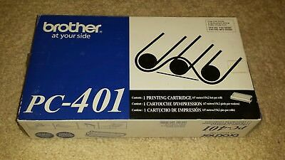 New Genuine Sealed - Brother Pc-401 Printing Cartridge
