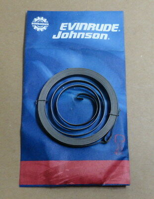 New Genuine Omc Brp Johnson Evinrude Recoil Starter Spring 115524 0115524
