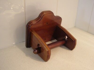 New Toilet Paper / Roll Holder Solid Timber/wooden