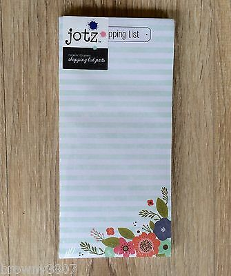 *NEW* Magnetic Shopping List / To Do List - Jotz-80 Sheets