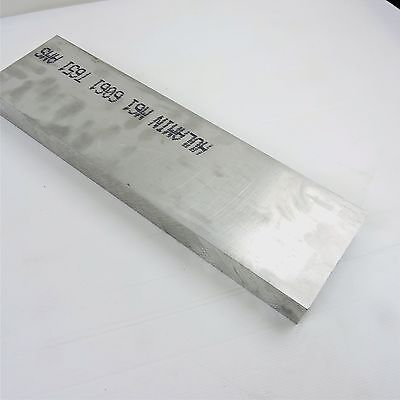 """2"""" thick 6061 Aluminum PLATE  5.5625"""" x 22.25"""" Long Solid Flat Stock sku137478"""