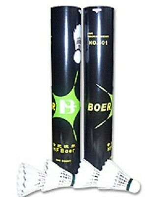 1x Dozen Boer 501 Feather Shuttlecocks (Yonex alt)