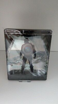 ** The Return of the First Avenger 3D Steelbook ** 2 Disc-Set - OHNE Backpaper