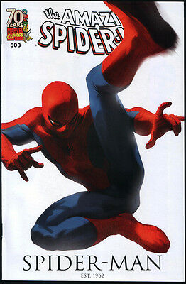 The Amazing Spider-man #608 70th Anniversary Djurdjevic Variant Cover