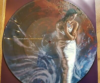 """Tears For Fears Woman In Chains 12"""" Vinyl Picture Disc, num. Limited Edition RAR"""