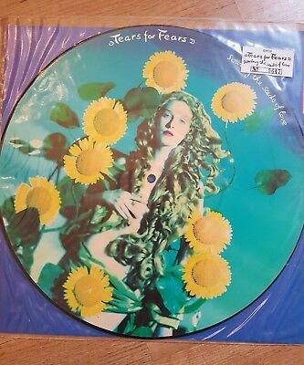 """Tears For Fears Sowing The Seeds of Love 12"""" Picture Disc, num. Limited Edition"""