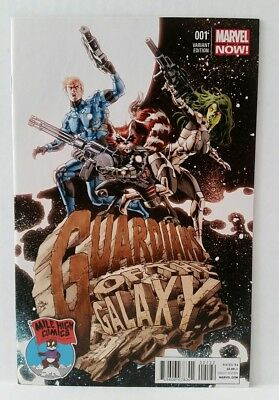 Guardians Of The Galaxy #1 Mike Deodato Mile High Variant Cover Marvel Comics