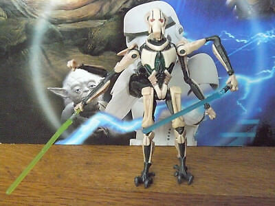 Star Wars Figur, General Grievous, Actionfigur, Hasbro, K10.