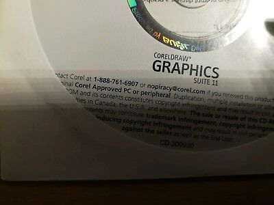 Corel DRAW 11 Graphics Suite + Photo Paint 11 Deutsche Vollversion - OEM Version