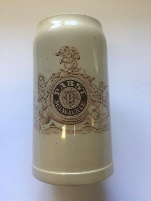 Vintage  1890's Pre-Prohibition Pabst Beer Brewing Mug Pbr Pre Pro Milwaukee Wi