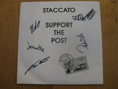 Staccato (Laatzen) - Support The Post Rox On Records & Tapes 1989