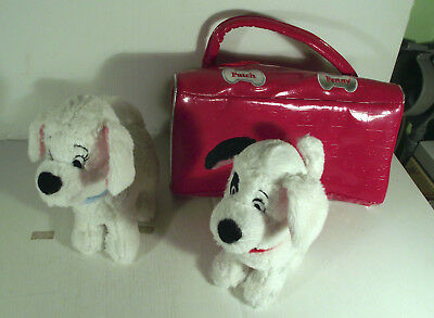 "6"" Penny + Patch Dog Soft Toy In Red Bag - Walt Disney 101 Dalmatians"