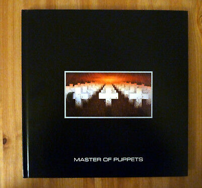 Metallica - Buch aus Master Of Puppets Remastered Deluxe Box Set (2017)