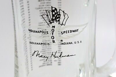 1986 Indianapolis Motor Speedway Mag Glass Indy 500 Winner Bobby Rahal (C18)