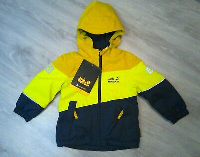 official photos d43fa a3a1d JACK WOLFSKIN JACKE Kinder in der Grösse 92 Triad II Texapore
